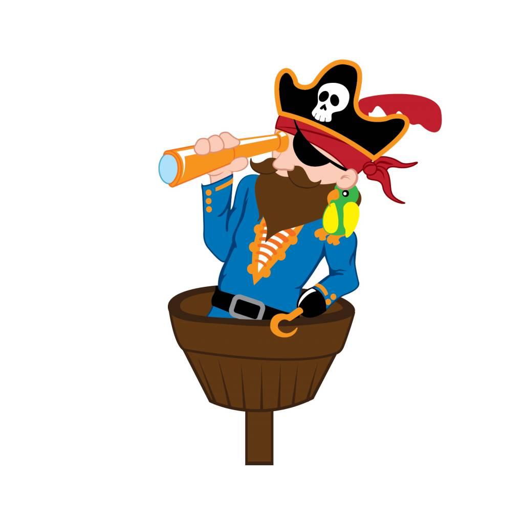 Pegatina habitación infantil - Pirata