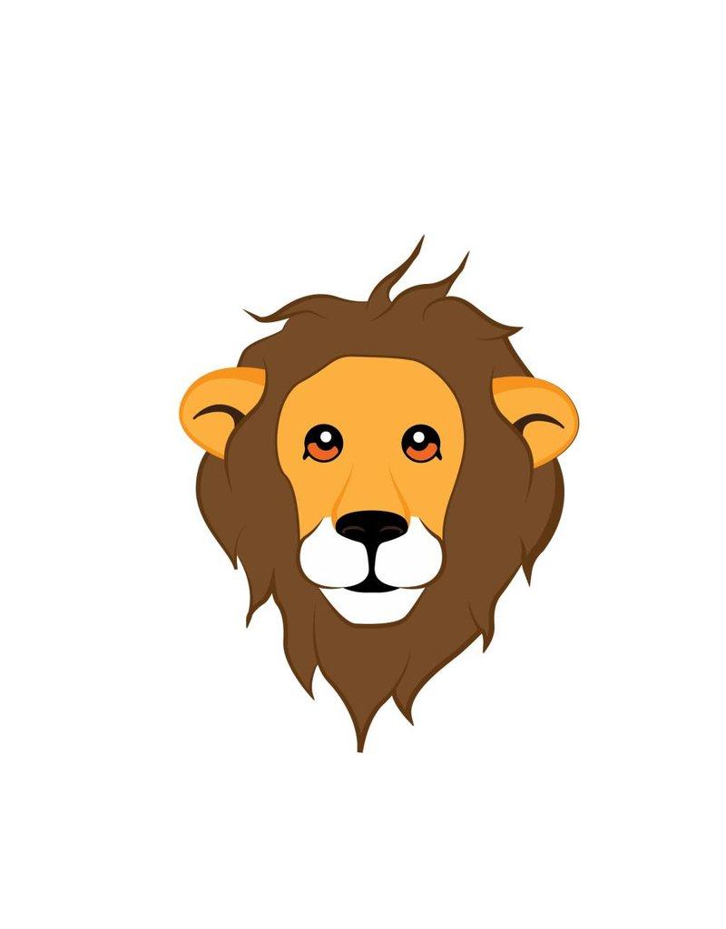 Kinderkamer Sticker - Leeuw
