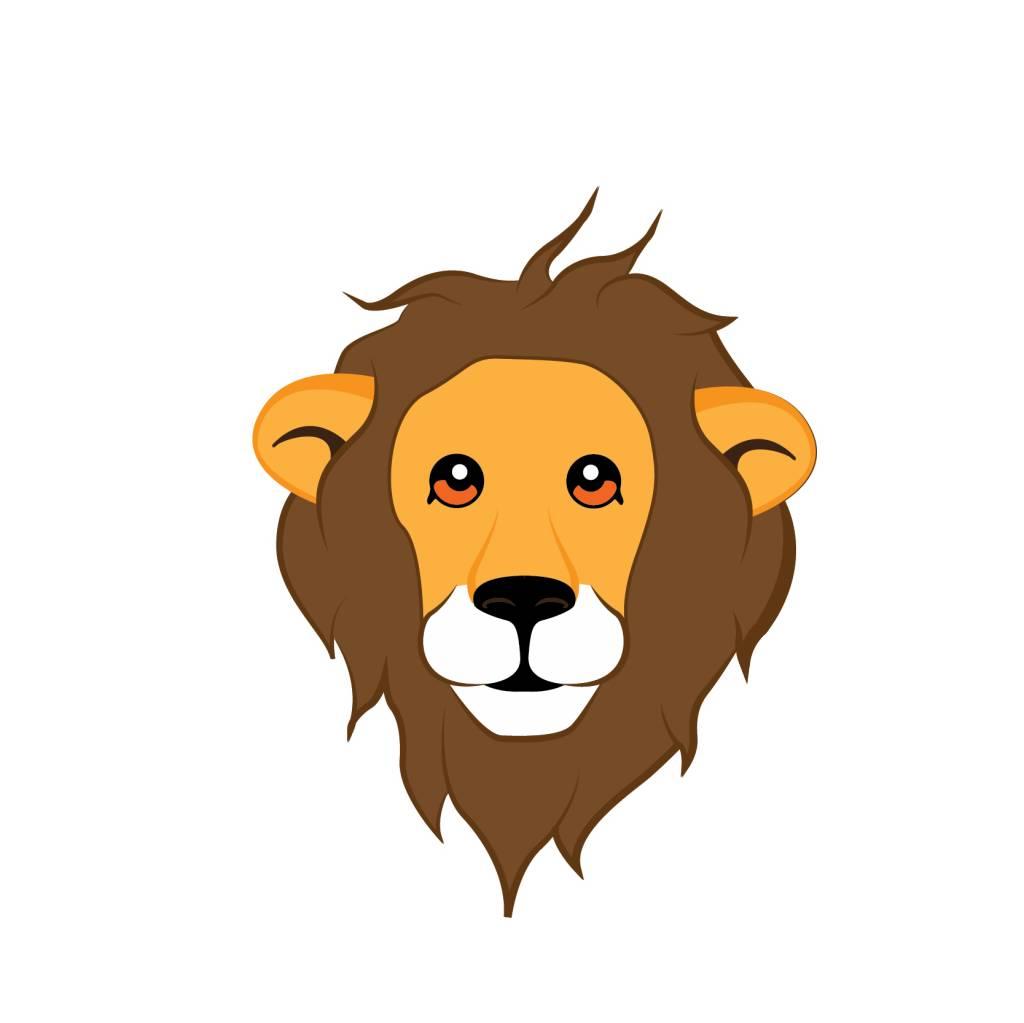 children's room Sticker - Lion