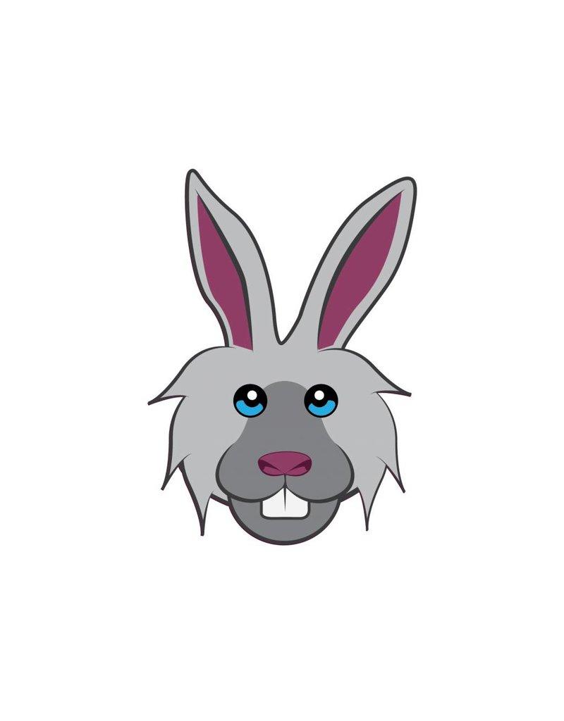 Kinderzimmer Sticker - Kaninchen