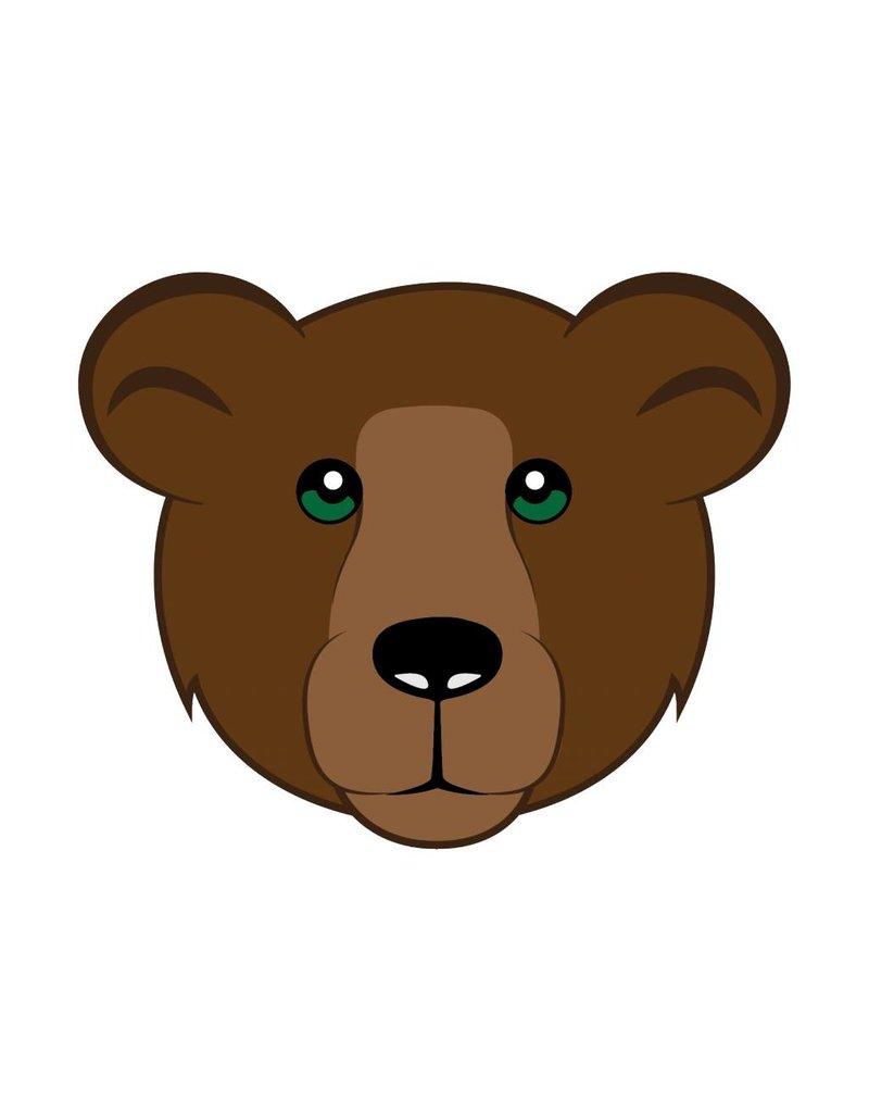 Kinderzimmer Sticker - Bär
