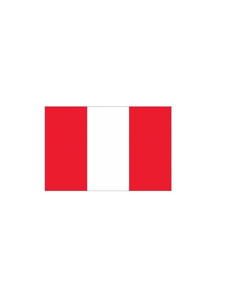 Peru vlag sticker