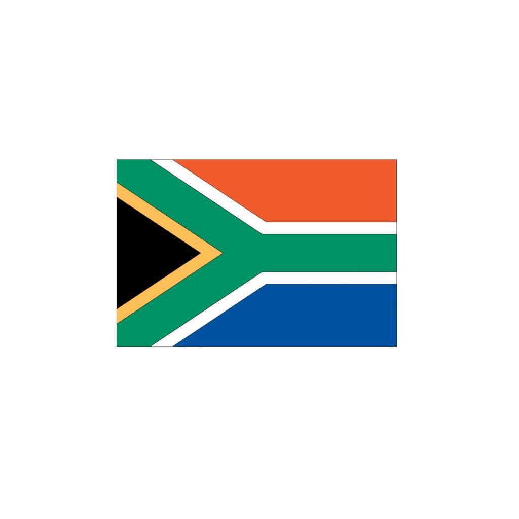 Zuid Afrika vlag sticker