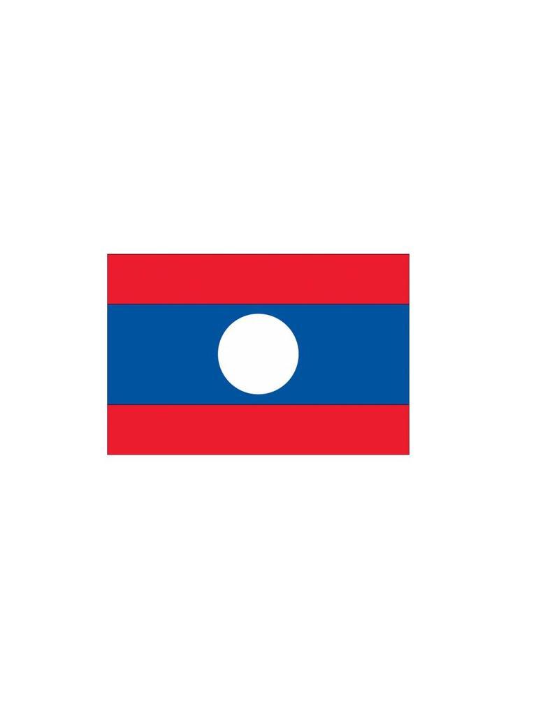 Laos Vlag sticker