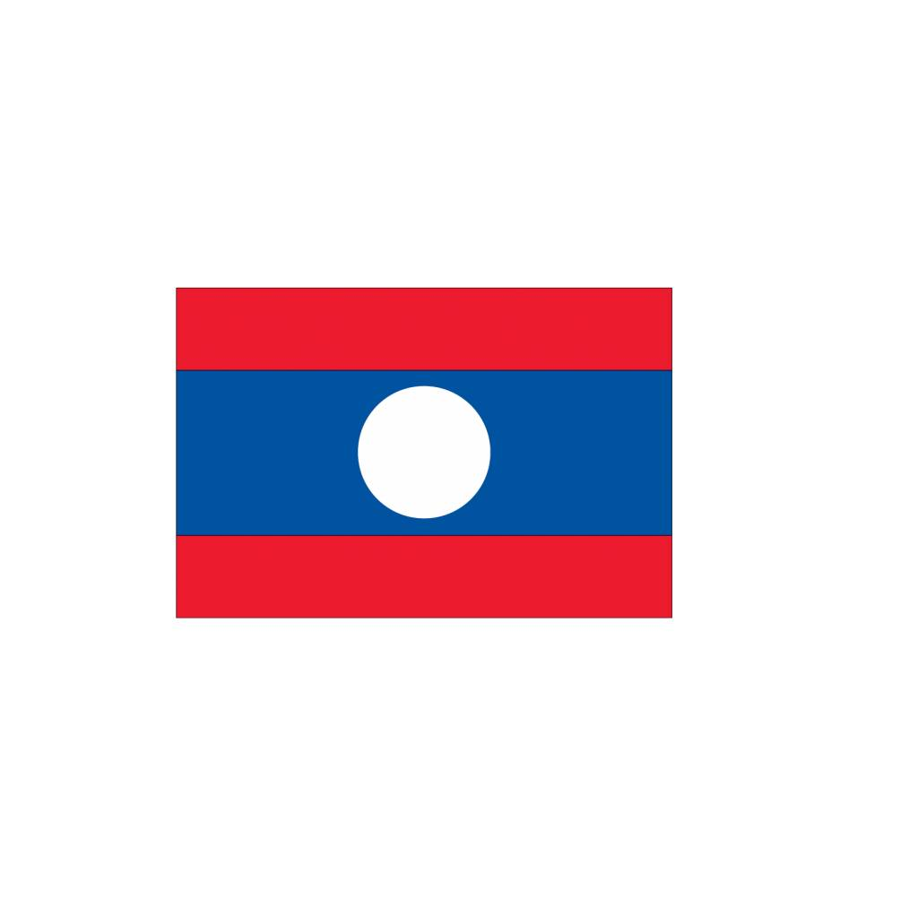 Laos Vlag sticker