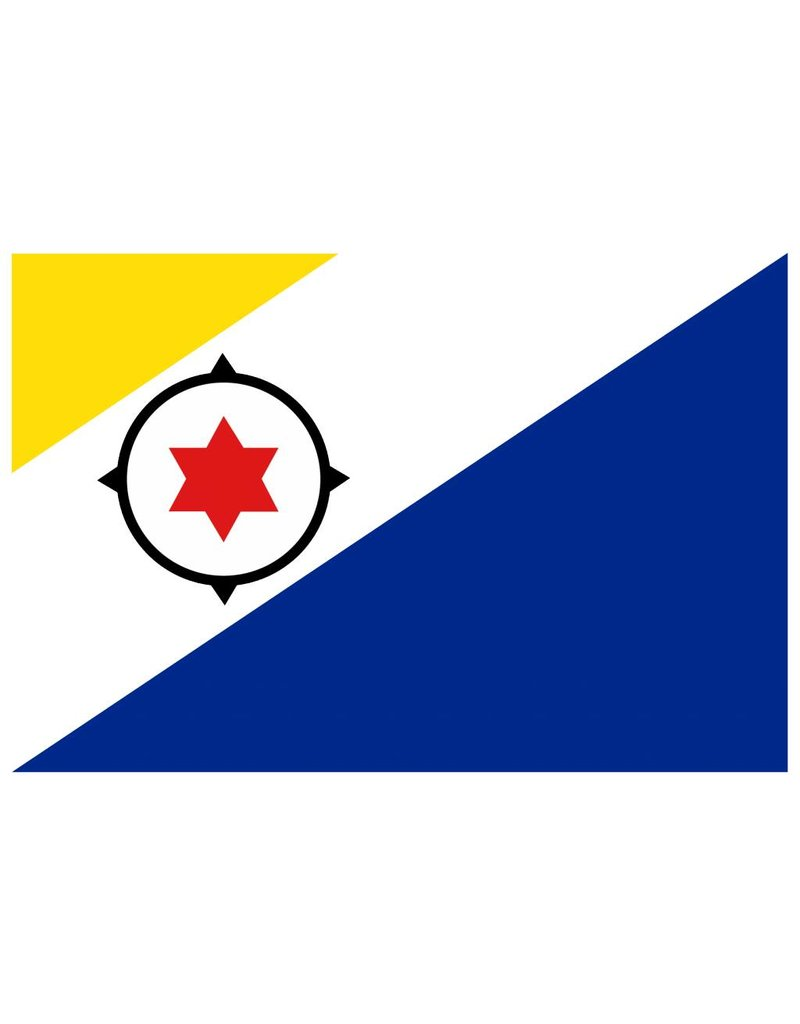 Vlag sticker Bonaire