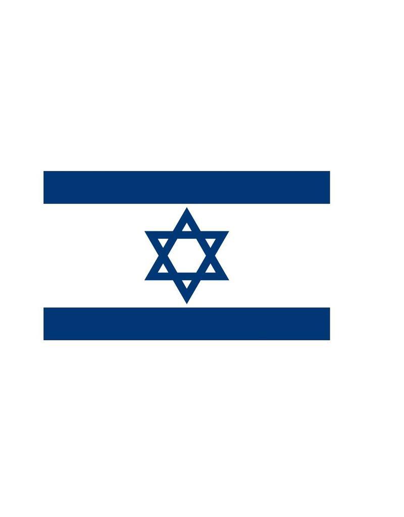 Israel vlag sticker