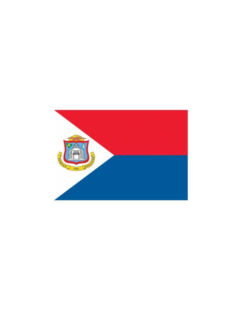 Dominicaanse Republiek vlag Sticker