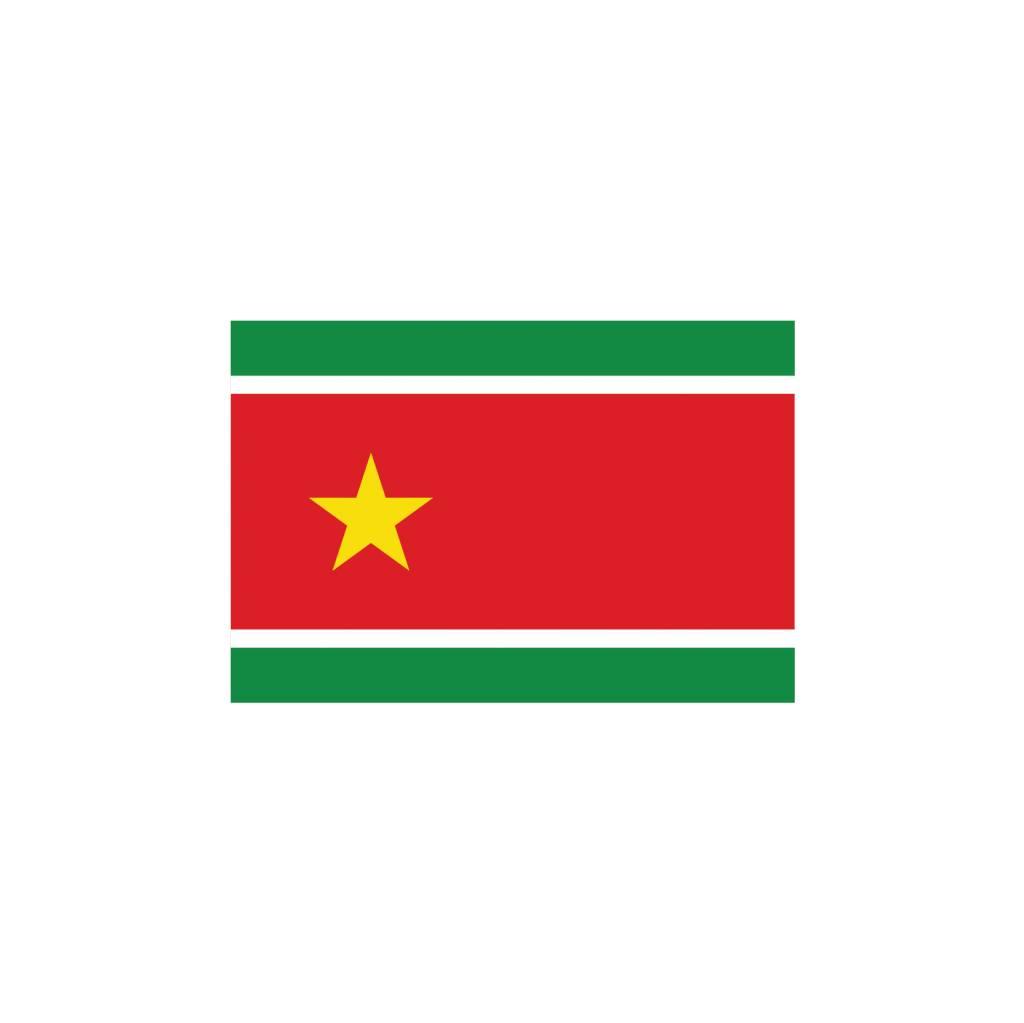 Guadeloupe vlag Sticker