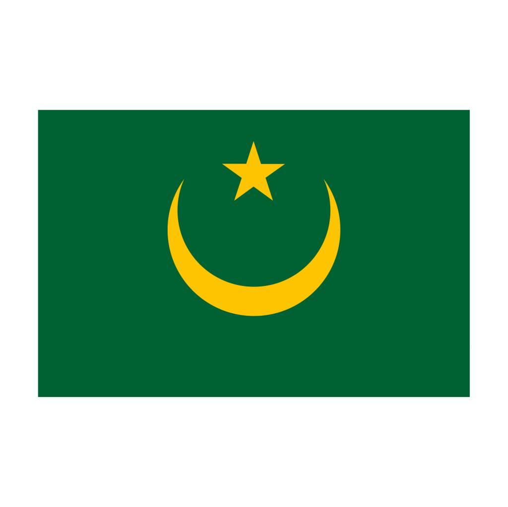 Mauritanie vlag Sticker
