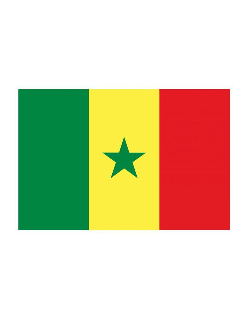 Senegal vlag Sticker