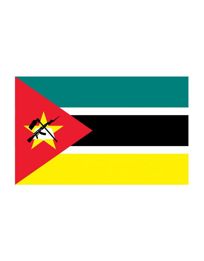 Mozambique vlag Sticker