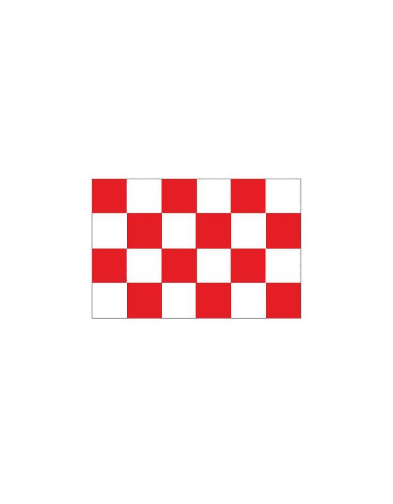 Pegatina bandera Brabante Septentrional