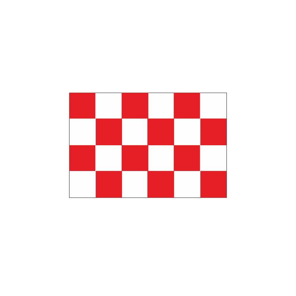 Noord-Brabant Flagge Sticker