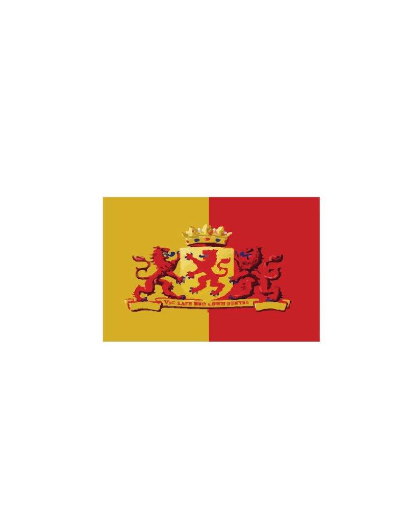 Pegatina bandera Holanda Meridional