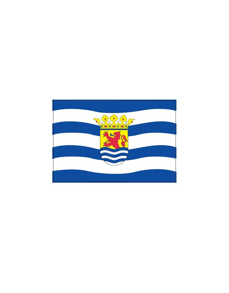Zeeland vlag sticker