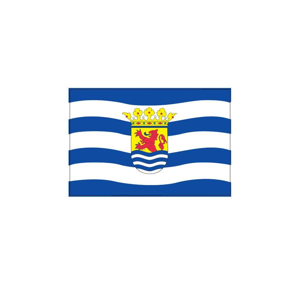 Zeeland Flagge Sticker