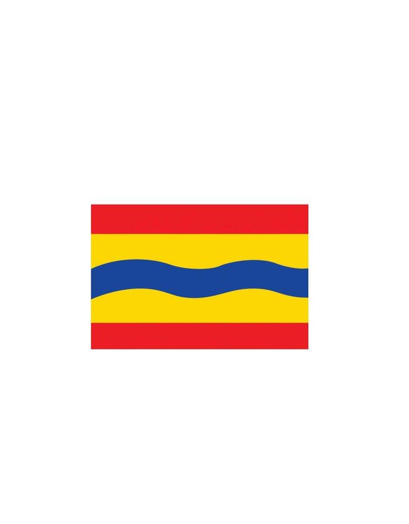 Pegatina bandera Overijssel