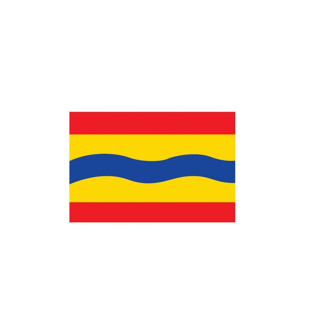 Overijssel Flagge Sticker