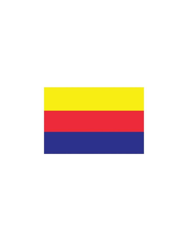 Noord Holland vlag sticker