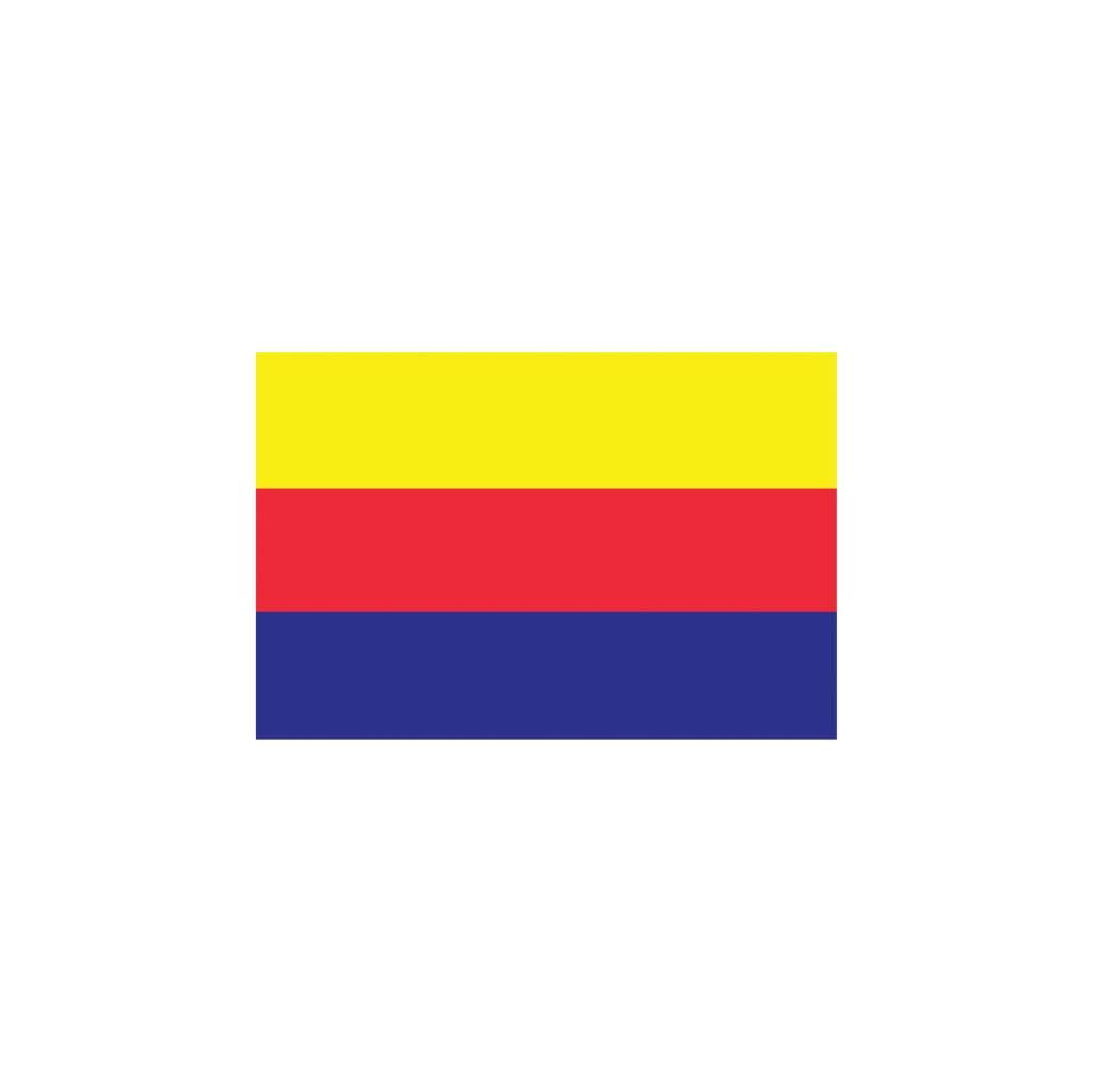 Hollande-Septentrionale drapeau autocollant