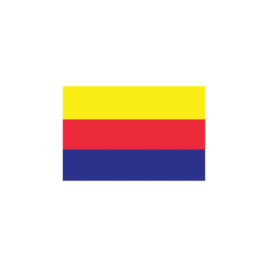 Pegatina bandera Holanda Septentrional