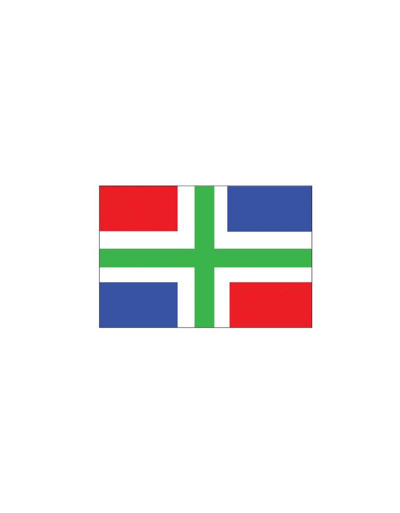 Groningen flag sticker