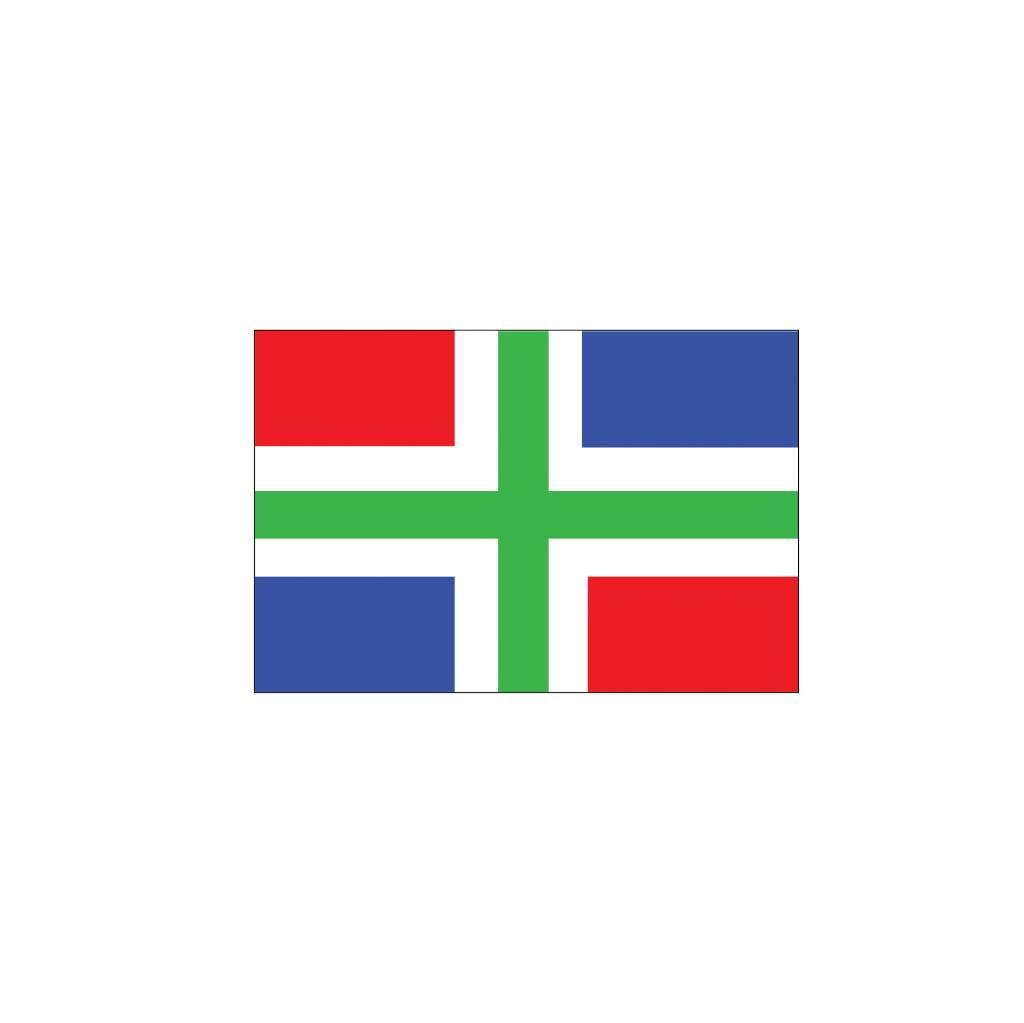 Groningue drapeau autocollant