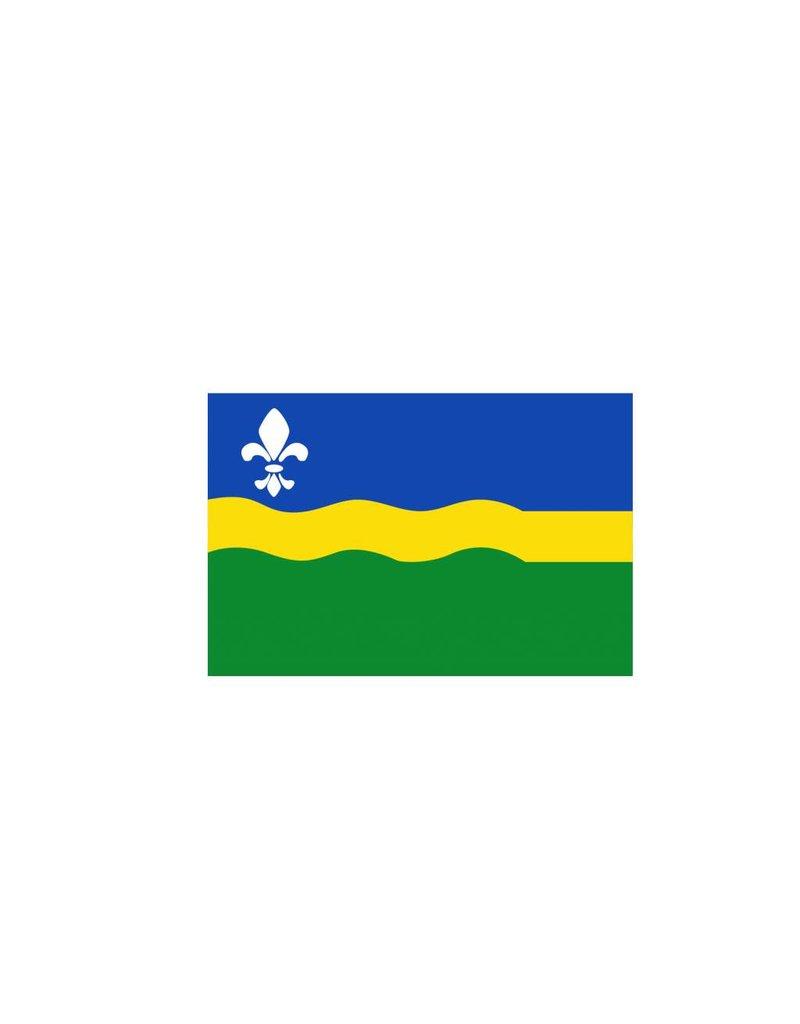 Flevoland Flagge Sticker