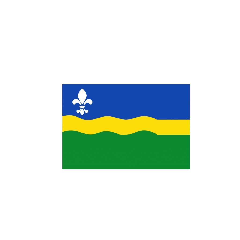 Flevoland vlag sticker