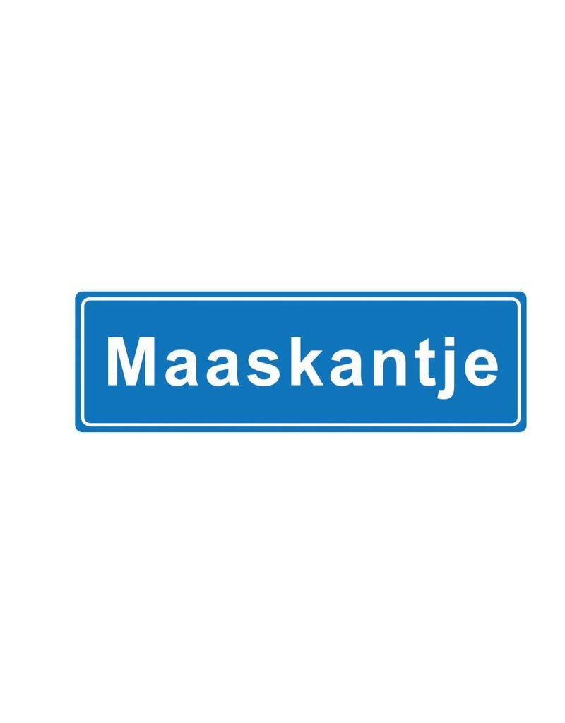 Maaskantje panneau nom de ville
