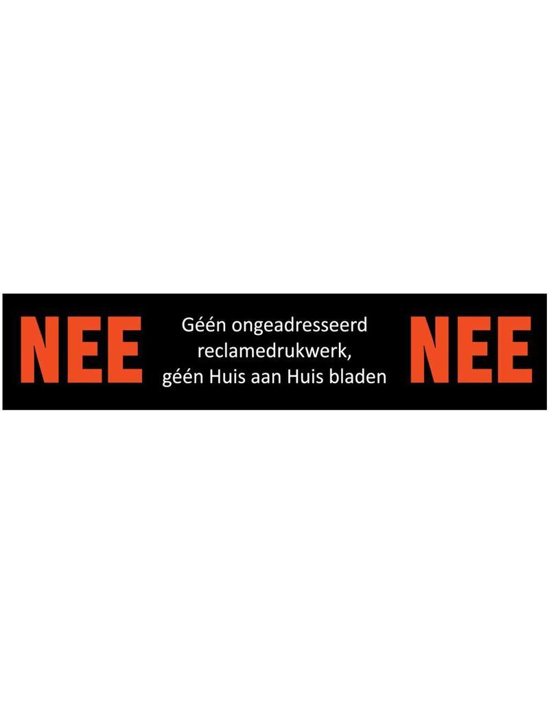 "Sticker ""Nee - Nee"""