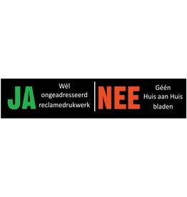 Ja- Nee sticker