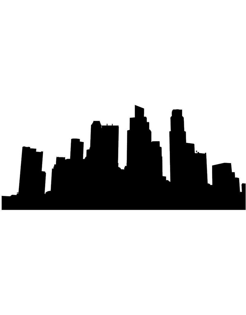 Skyline Singapore Sticker
