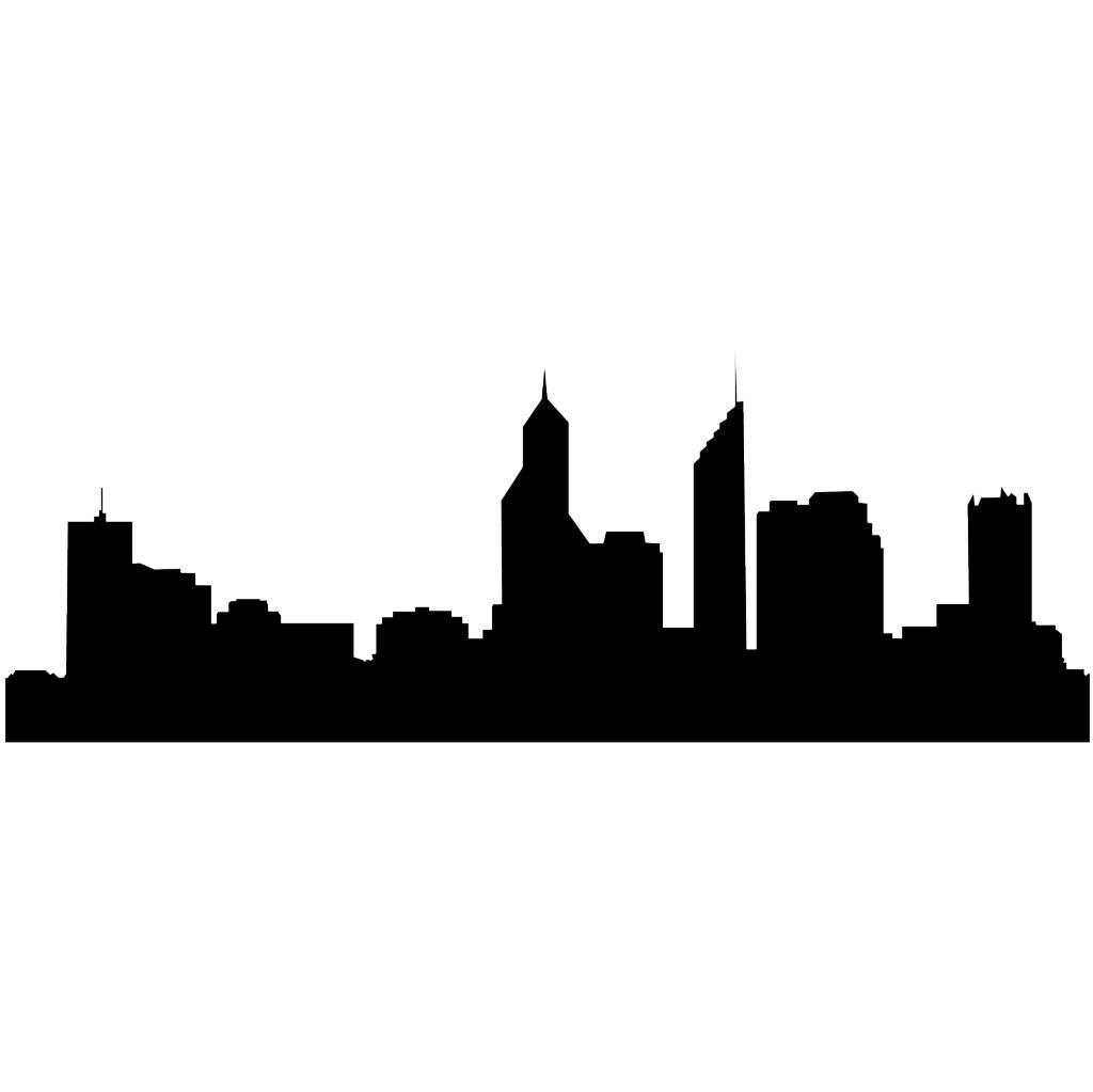 Skyline Perth Aufkleber