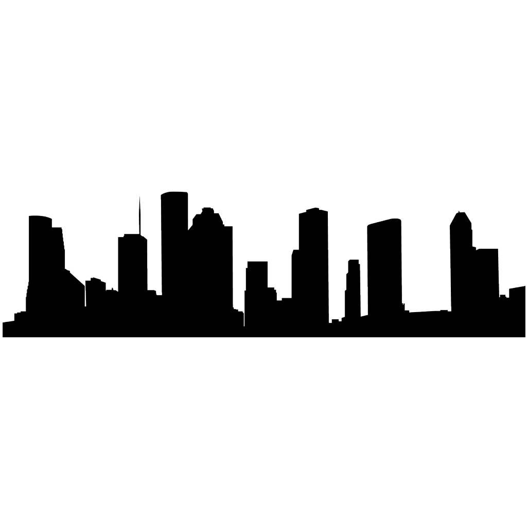 Panorama urbain New York autocollant