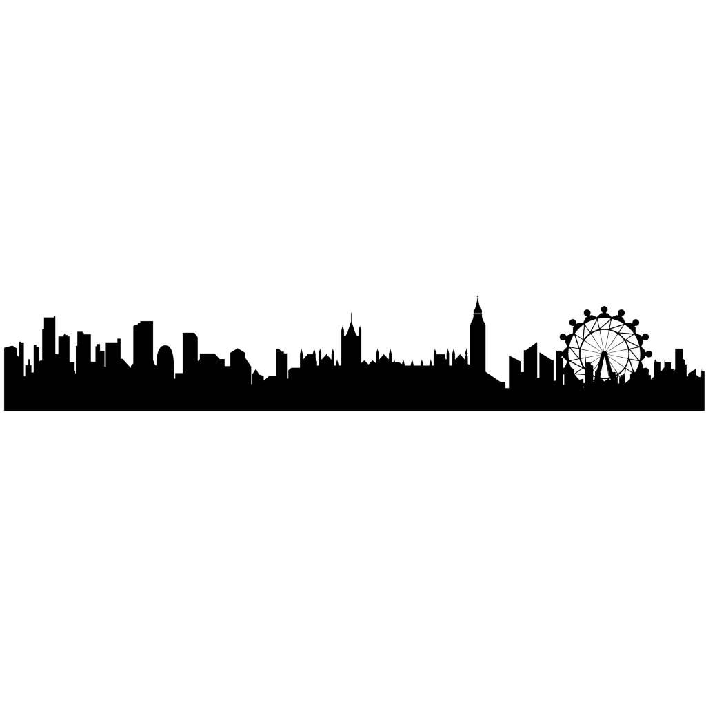 Panorama urbain London autocollant
