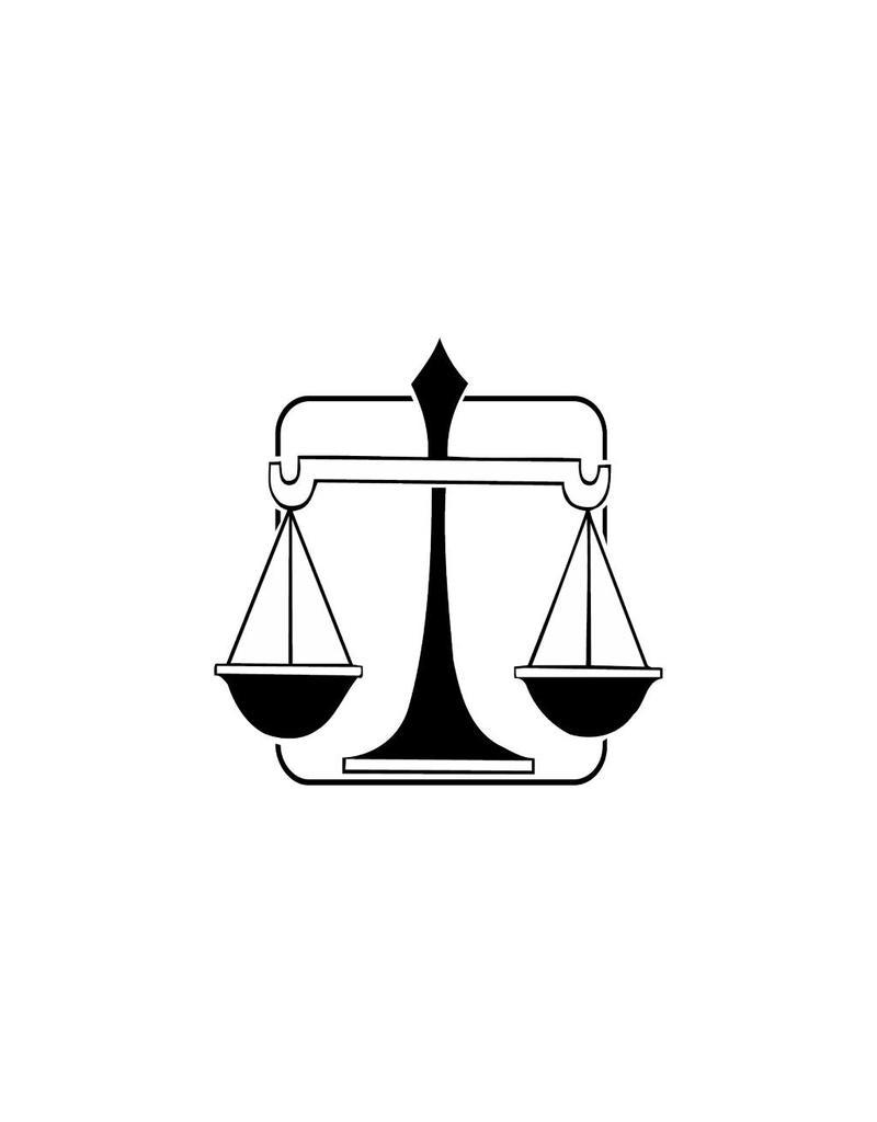 Libra zodiac sticker 1