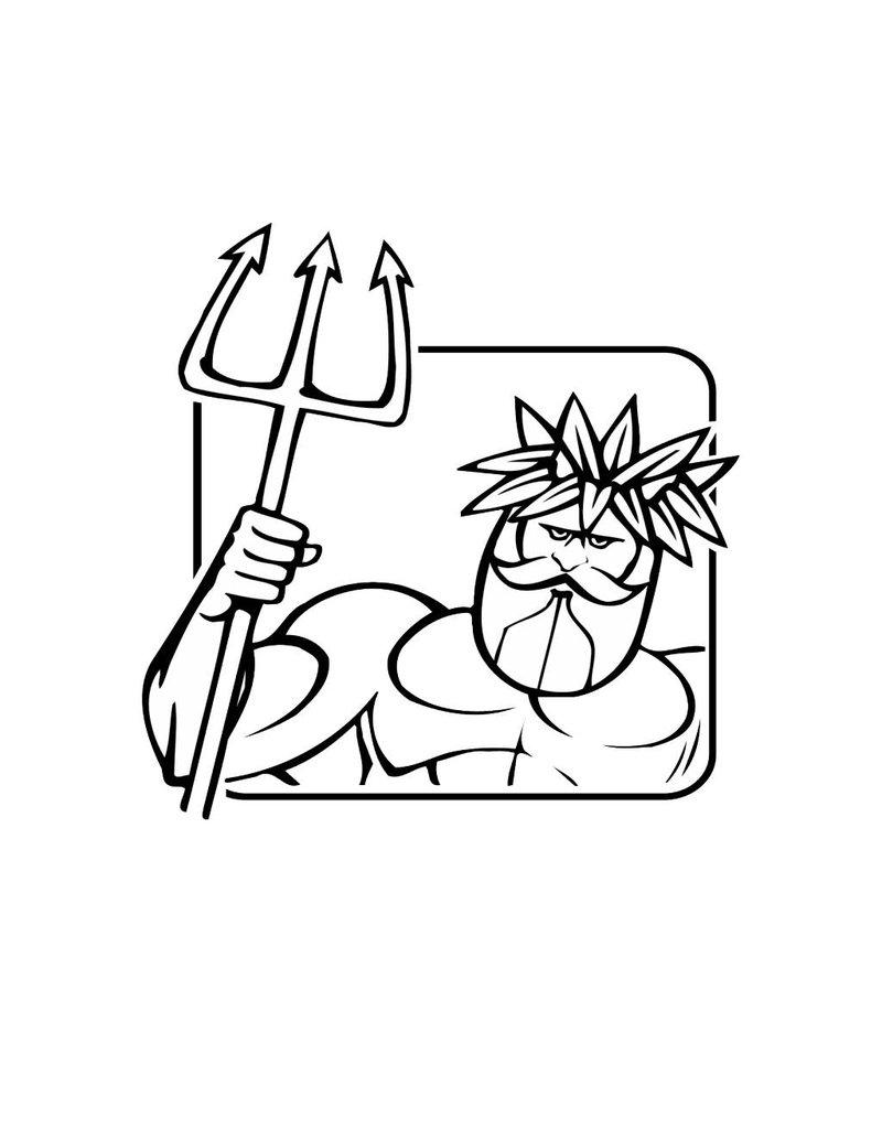 Waterman sterrenbeeld sticker 1