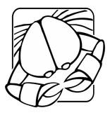 Krebs Sternzeichen Sticker 2