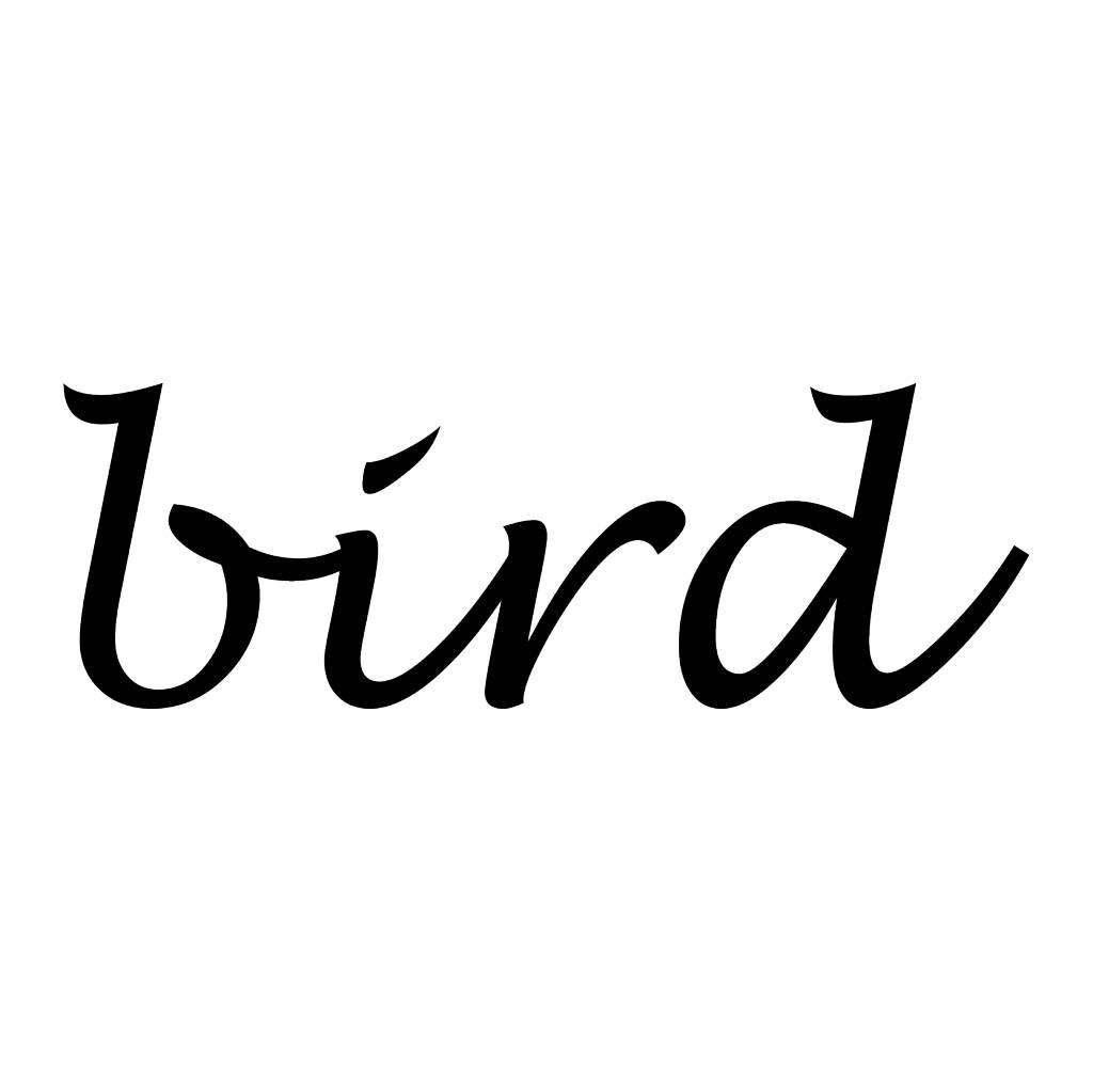 Bird Letter Stickers