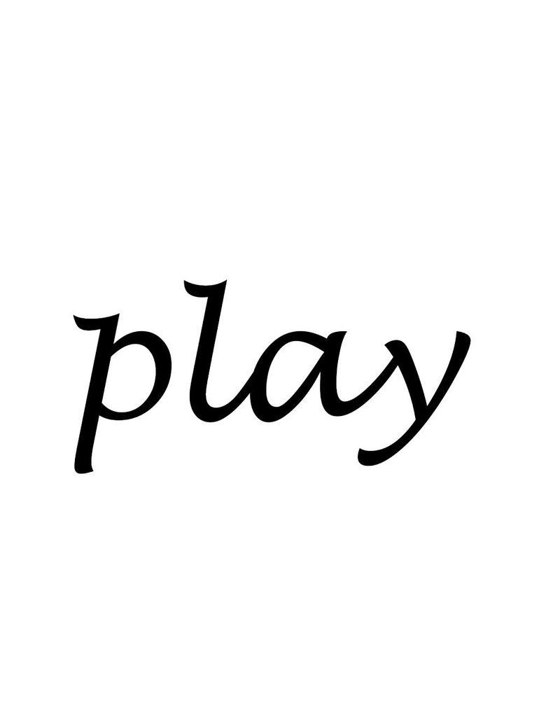 """Letras: """"Play """""""