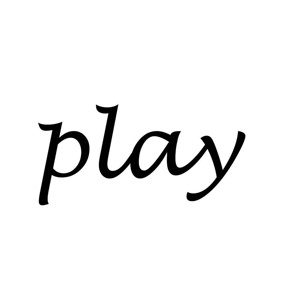 Play lettres adhésives