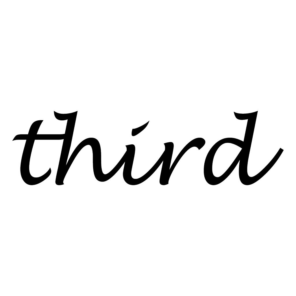 Third Letter Stickers