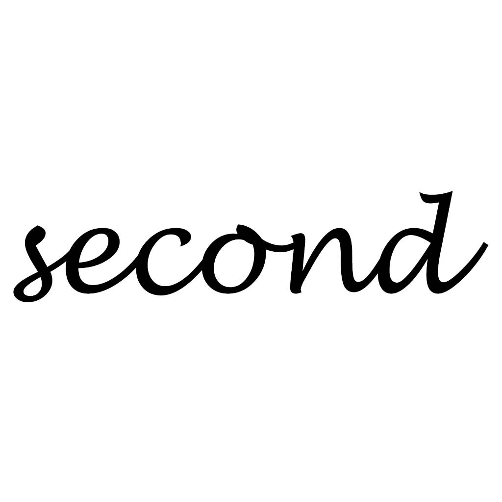 "Letras: ""Second """
