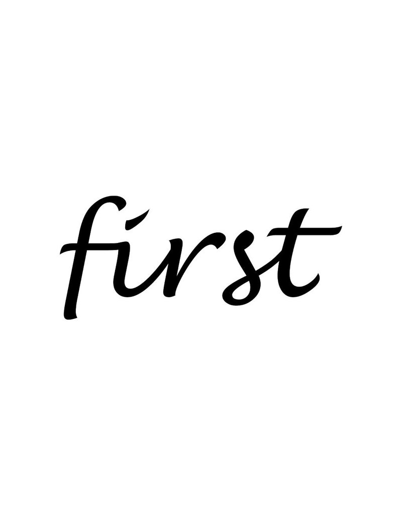 """Letras: """"First """""""