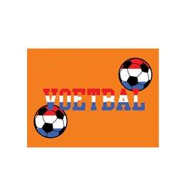 Oranje sticker 8