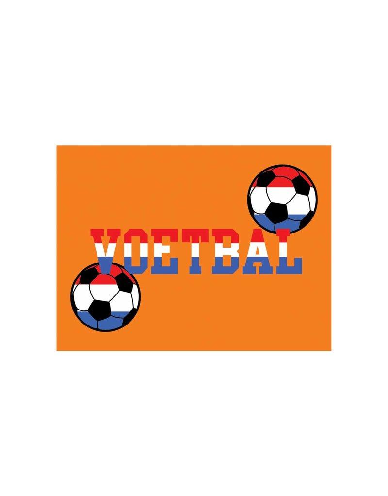 Orange autocollant 8
