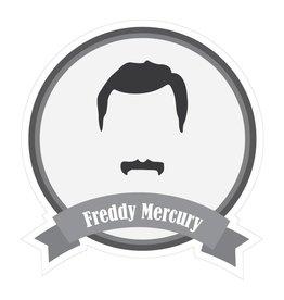 Autocollant moustaches célèbres Mercury