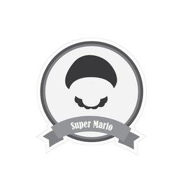 Berühmter Schnurrbart Mario Sticker